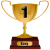 Number 1 Award for Easy Level