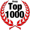 Top 1000 Award for Crazy Level