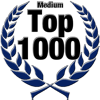 Top 1000 Award for Medium Level