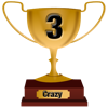 Number 3 Award for Crazy Level
