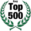 Top 500 Award for Easy Level