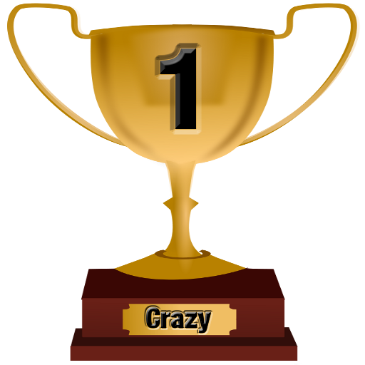 Top 1 Award for Crazy Level